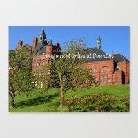 downton abbey Canvas Prints featuring Downton Desire by Nonna Originals