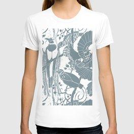 Blue Birds Of Paradise T-shirt