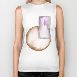 180914 Minimalist Geometric Watercolor 8 Biker Tank