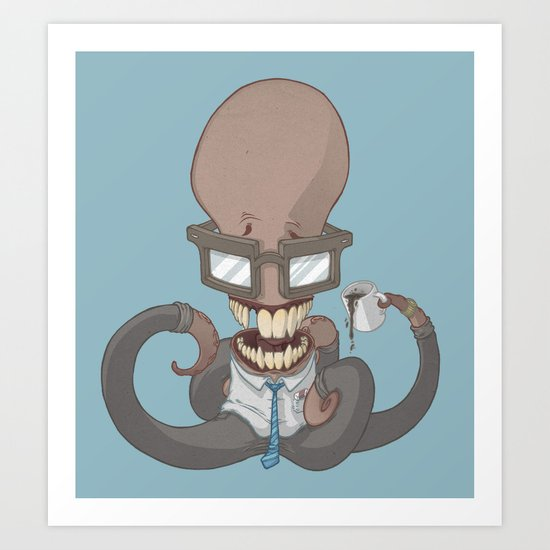 Employee of the month Art Print