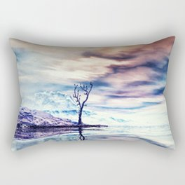 Winter am See Rectangular Pillow