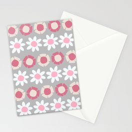Peggy Pink Stationery Cards
