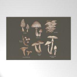 Mushrooms Welcome Mat
