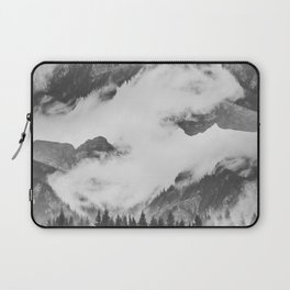 Misty Mountain II B&W Laptop Sleeve
