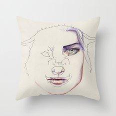 Rageuse Throw Pillow
