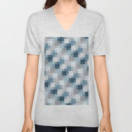 Water Pixels Unisex V-Neck