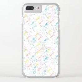 Bird Song Clear iPhone Case