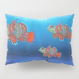 Mandy, the Mandarin Fish Pillow Sham