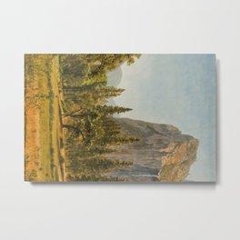 Bridal Veil Falls, Yosemite Valley, California Metal Print