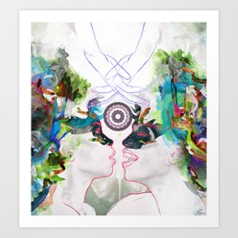Within Oneness Art Print