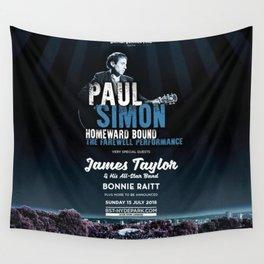 PAUL SIMON BRITISH SUMMER TIME TOUR DATES 2019 KAMBOJA Wall Tapestry