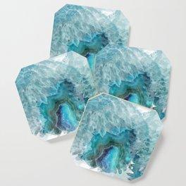 Blue Aqua Agate Coaster