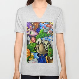 All terraria's pets Unisex V-Neck