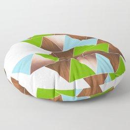Zarah (Green) Floor Pillow