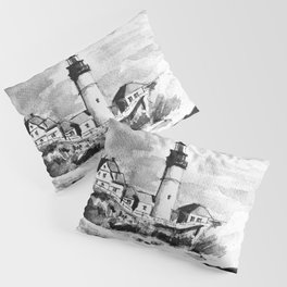 Portland Head Light Lighthouse Maine Pillow Sham