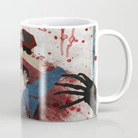 resident evil Mugs featuring Evil by Spectacle Photo