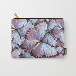 Iridescent Butterflies Carry-All Pouch