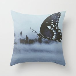 Invisible Cities Throw Pillow