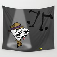 rorschach Wall Tapestries featuring Rorschach GIR by Diffro