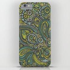 Blue safari iPhone 6s Plus Slim Case