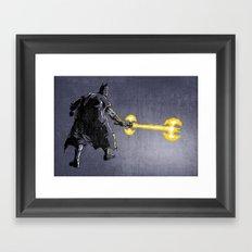 Bat Sabre Awakens Framed Art Print