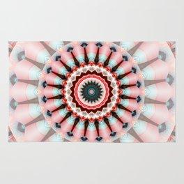 Mandala Pretty in Pink Rug