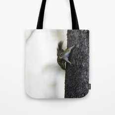 Baby Red Squirrel Tote Bag