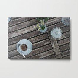 Coffee & Tea 01 Metal Print