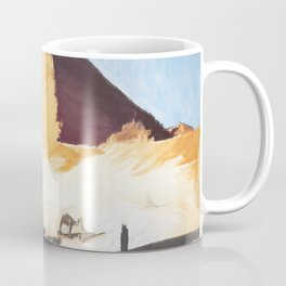 The Great Sphinx And Pyramid Coffee Mug