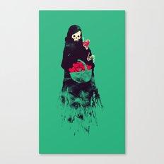 Death Valentine Gift Canvas Print
