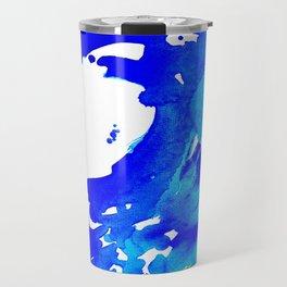 Save The Water Watercolour Travel Mug