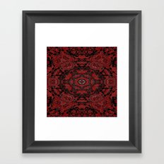 Regal Red Framed Art Print