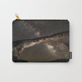 Night sky at Owachomo Bridge 2 Carry-All Pouch