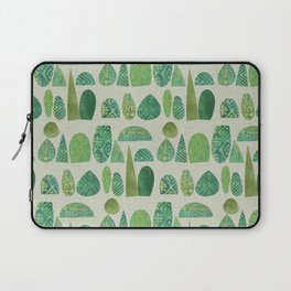Watercolour Topiary Laptop Sleeve