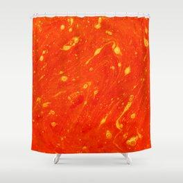 Red Adagio Shower Curtain