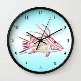 Hogfish Wall Clock