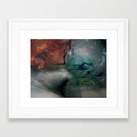 climbing Framed Art Prints featuring Climbing by Sarah Omen