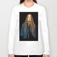 gangster Long Sleeve T-shirts featuring Gangster by Elena Medero