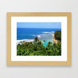 North Shore Kauai Framed Art Print
