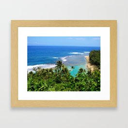 North Shore Kauai Framed Art Print