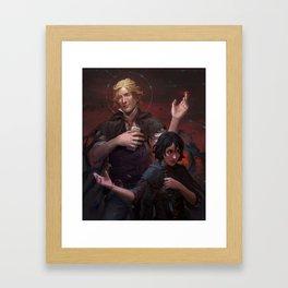 Kelsier and Vin Framed Art Print