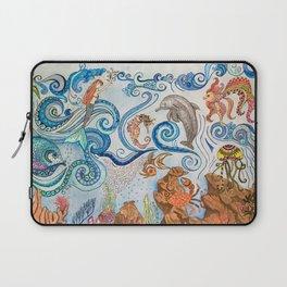 Ocean Zentangle Laptop Sleeve