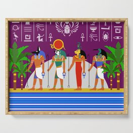 Egyptian Night Serving Tray