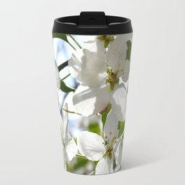 Crabapple Flowers 05 Travel Mug