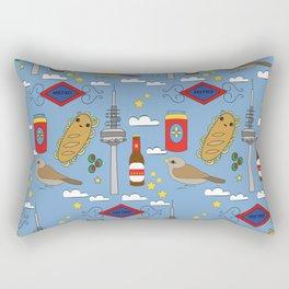 Madrid Pattern Rectangular Pillow