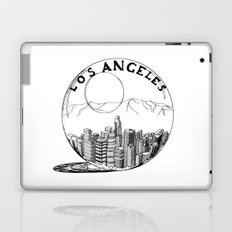 Los Angeles in a glass ball Laptop & iPad Skin