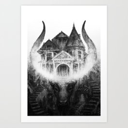 House of Leaves by Kristina Carroll Art Print
