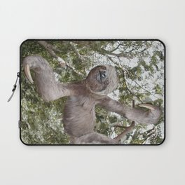 Sloth, A Real Tree Hugger Laptop Sleeve