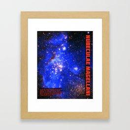 Magellanic Cloud Framed Art Print