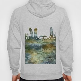 Abu Dhabi City Skyline Hoody